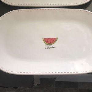 Watermelon platter Rae Dunn